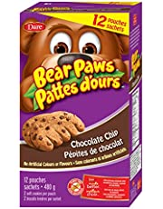 Bear Paws Chocolate Chip Cookies, 480g x 12 Pouches