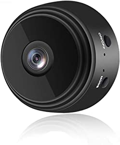 Mini Camera WiFi Wireless Video Camera 1080P HD Small Home Security Surveillance Cameras with 32G SD Card,Portable Tiny Nanny Cam with Night Vision Motion Detection for Car Indoor Outdoo NEFRIA