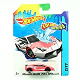 hot wheel water - LAMBORGHINI GALLARDO LP570-4 SUPERLEGGERA * COLOR SHIFTERS * 2015 Hot Wheels City Series 1:64 Scale Vehicle #32/48