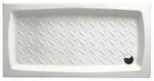 Plato Ducha de Porcelana 80 x 140 Altura 11 cm Althea Cerámica ...