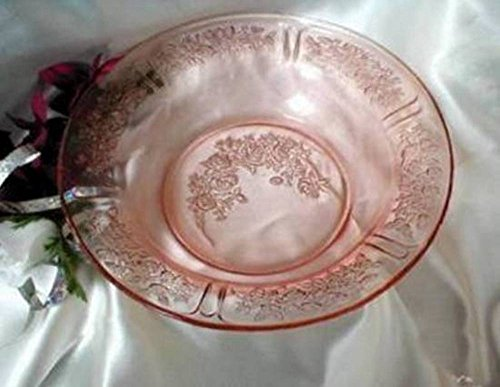 2167 Antique Federal Pink Sharon Flat Soup Bowl