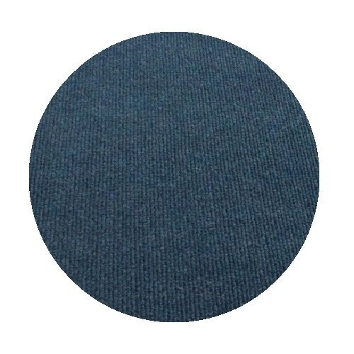 Economy Water - 10' Round - Dark Blue Waters - Economy Indoor/Outdoor Carpet Patio & Pool Area Rugs  Light Weight Indoor/Outdoor Rug - Easy Maintenance - Just Hose Off & Dry! - 10 Colors to Choose from