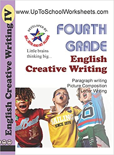 Amazon In Buy Class 4 English Creative Writing Worksheets Cbse Icse