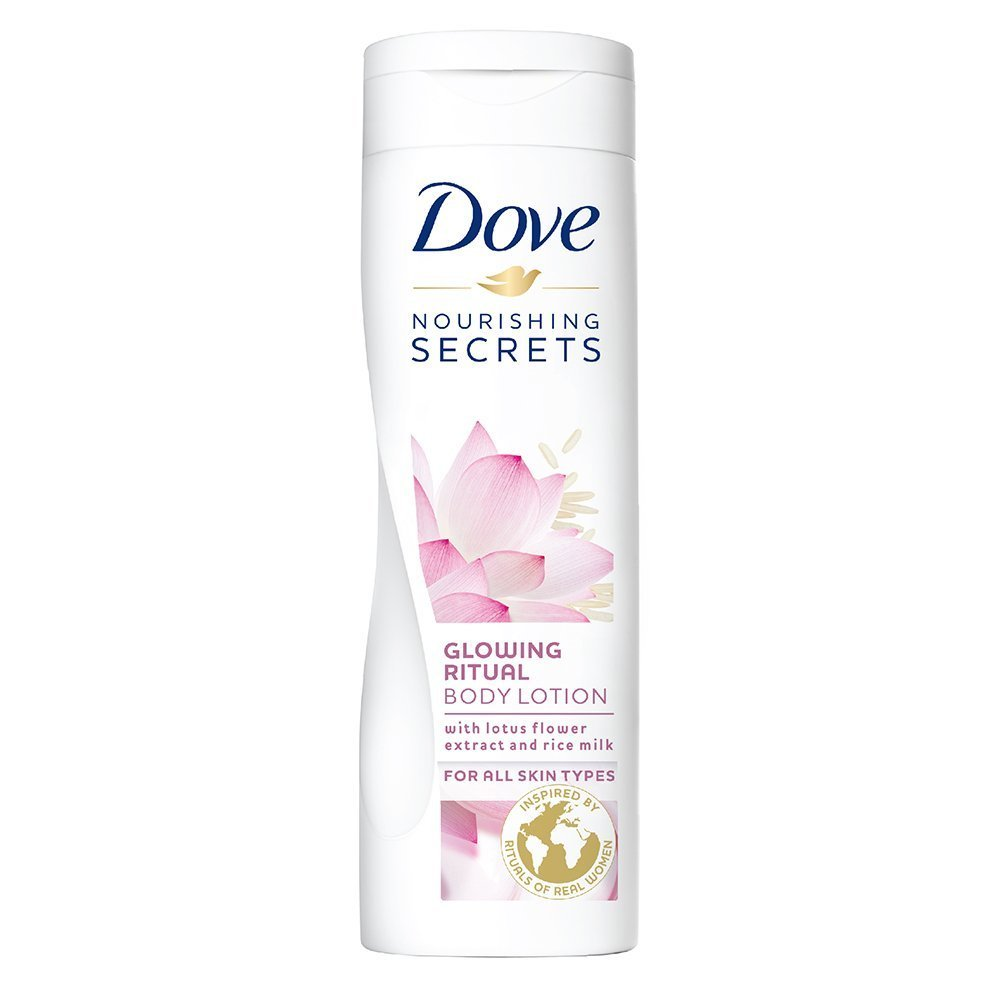 Amazoncom Dove Glowing Ritual Body Lotion For All Skin Types