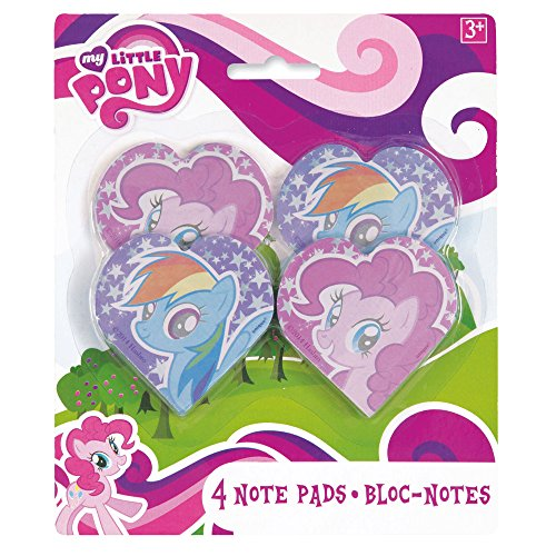 Little Pony Notepad Party Favors