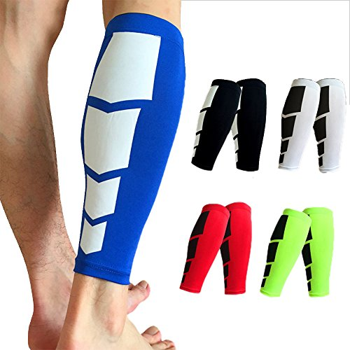 2aa3ca73846 FITTOO Calf Compression Sleeves Leg Muscle Protection Shin Guard Leg Brace  For Running Football Basketball Sports Support