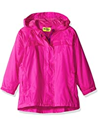 Western Chief Girls Rain Coat, Solid Pink, 7