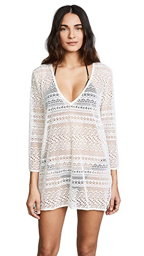 Point Spade (Kate Spade New York Women's Point Loma V Neck Tunic, Cream, X-Small)