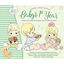 Precious Moments Baby's First Year Non-Dated Keepsake Calendar Stickers