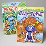 COLORING BOOK BUG TIME 2 ASST IN FLOOR DISPLAY, Case Pack of 120