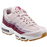 women air max 95 - NIKE Air Max 95 Women's Barely Rose Running Shoes, 6.5