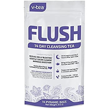 Amazon.com: V-TEA 14 Day Detox Tea Cleanse   Organic