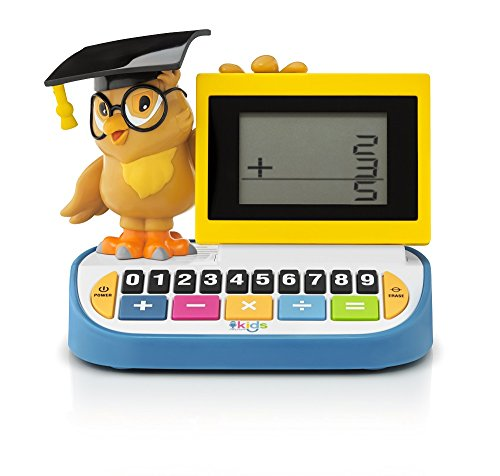 (Singing Machine Kid's SMK168 Wise Old Owl Blackboard Calculator)