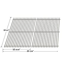 Aftermarket Replacement Stainless Steel Cooking Grid (7528) for Weber Genesis 300 Series Gas Grill Models