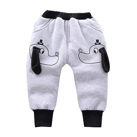 Pantalones de chándal de algodón para bebé, niñas, niños y niñas ...
