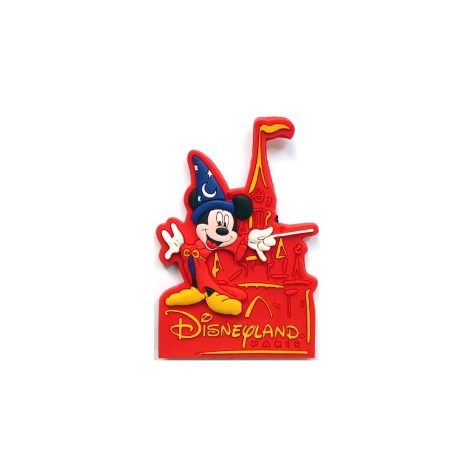 Mickey Mouse ~ Disneyland Paris ~ Fridge Magnet ~ Refrigerator Magnet ~ sorcerer Mickey