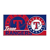 MLB Texas Rangers Short Stop Oversized Beach Towel, 34 x 70-inches