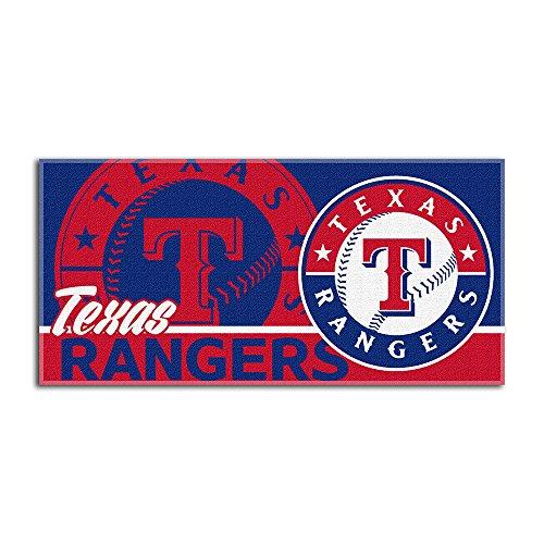 (MLB Texas Rangers Short Stop Beach Towel, 34