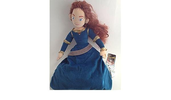 Brave Movie Cartoon Princess Merida Plush Fleece Throw Blanket New Disney Pixar