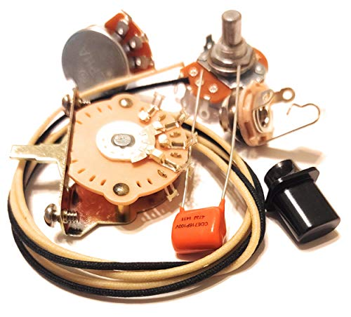 Quality US Spec Wiring Harness Upgrade Kit for Telecaster .047uf Orange Drop Cap (Best Wiring Harness For Telecaster)