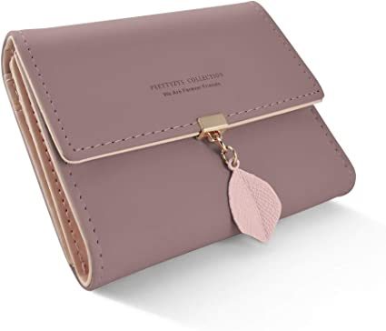 Genuine Leather Wallet for Women Card Holder Wallet Multi Colored Coin Purse for Organizing Cards