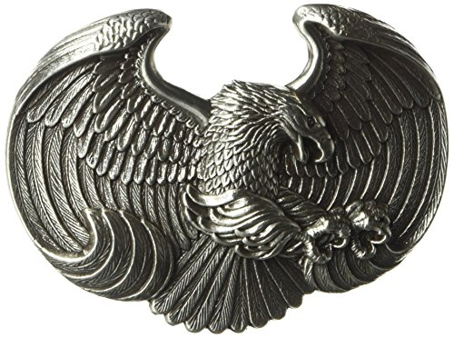 Nocona Men's Eagle Buckle, Silver, One Size for sale  Delivered anywhere in USA