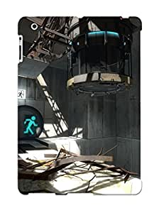 Defender Case With Nice Appearance (portal 2) For Ipad 2/3/4 / Gift For New Year's Day