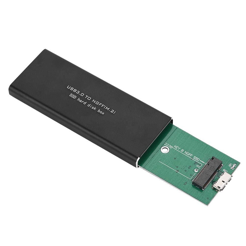 Vbestlife Estuche SSD USB3.0 Tipo-A a M.2 NGFF SDD Llave USB SSD ...