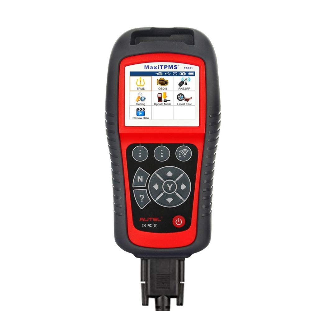 Autel MaxiTPMS TS601 Advanced TPMS Diagnostics and Service Tool Wireless Sensor Activation relearn Programming OBD2 Scanner