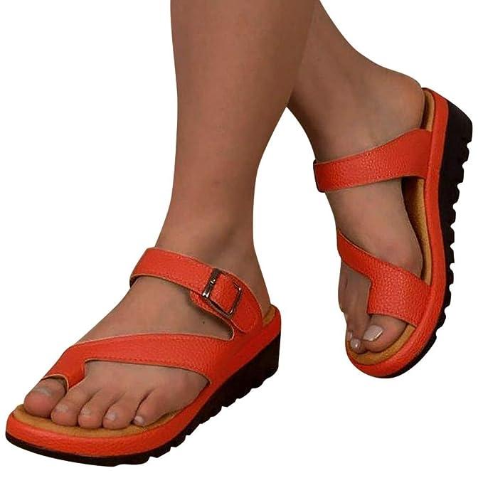 7058b17ea8013 Amazon.com: Women's Retro Sandals/Womens Flats Wedges Platform ...