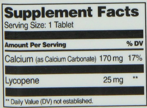 21st Century Lycopene 25 mg Tablets 60 Count Discount