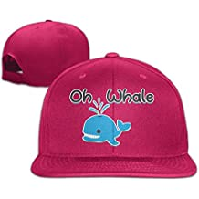 Mominling Oh Whale Men's and Women's Flat Baseball Cap
