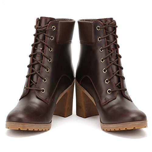 6 Stivali inch Alti Lace Allington Up Donna Timberland Brown qPASwB6p