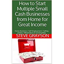 How to Start Multiple Small Cash Businesses from Home for Great Income: Home Business / Self Employment / Selling Online / Minimalism & Sustainability