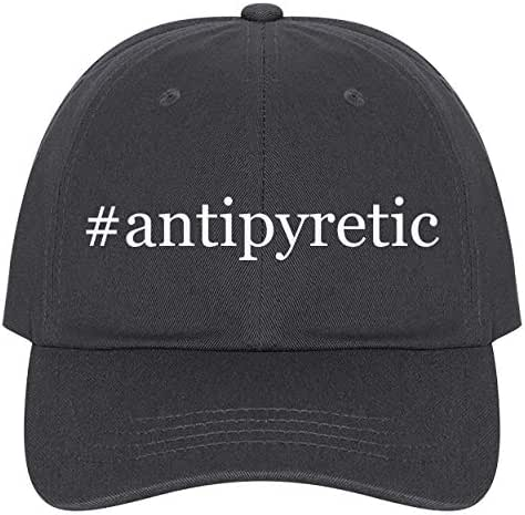The Town Butler #Antipyretic - A Nice Comfortable Adjustable Hashtag Dad Hat Cap