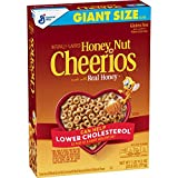 Honey Nut Cheerios, Cereal with Oats, Gluten