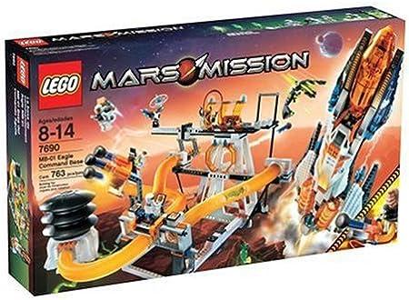 LEGO – Mars Mission – Juego de construcción – -Base de Mando MB-01: Amazon.es: Juguetes y juegos