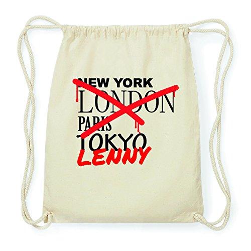 JOllify LENNY Hipster Turnbeutel Tasche Rucksack aus Baumwolle - Farbe: natur Design: Grafitti qouPwXrF