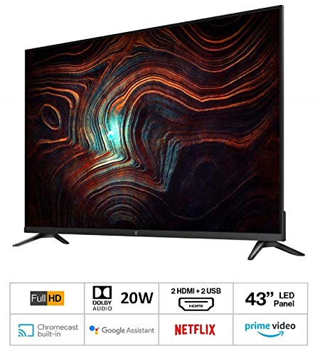 OnePlus 108 cm (43 inches) Y Series Full HD LED Smart Android TV 43Y1