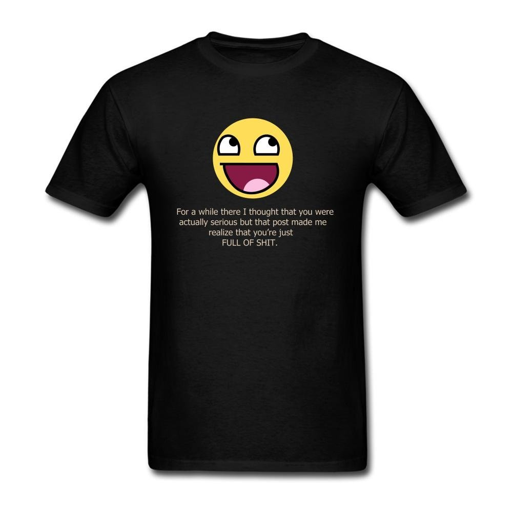 S Smily Emotion Face Quotes T Shirt
