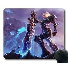 Customizablestyle League of Legends Riven-1 Mousepad, Customized Rectangle DIY Mouse Pad