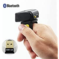 Mj-5209a Bluetooth Wearable Barcode Scanner Ring Barcode Scanner