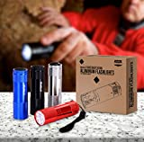 Utopia Home Pack of 4 Bright LED Mini Aluminum Flashlights - Compact and Sturdy - Simple to Operate