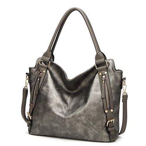 Reversible Hobo Handbag - 7
