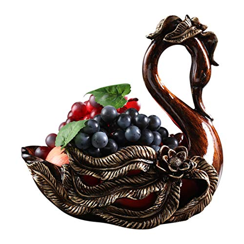 Your only family European Fruit Bowl Luxury Living Room Large Fruit Bowl Creative Home Creative Coffee Table American Retro Fruit Bowl Decoration Beautiful