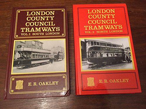 London County Council Tramways, Volume 1 South London and Volume 2 North London