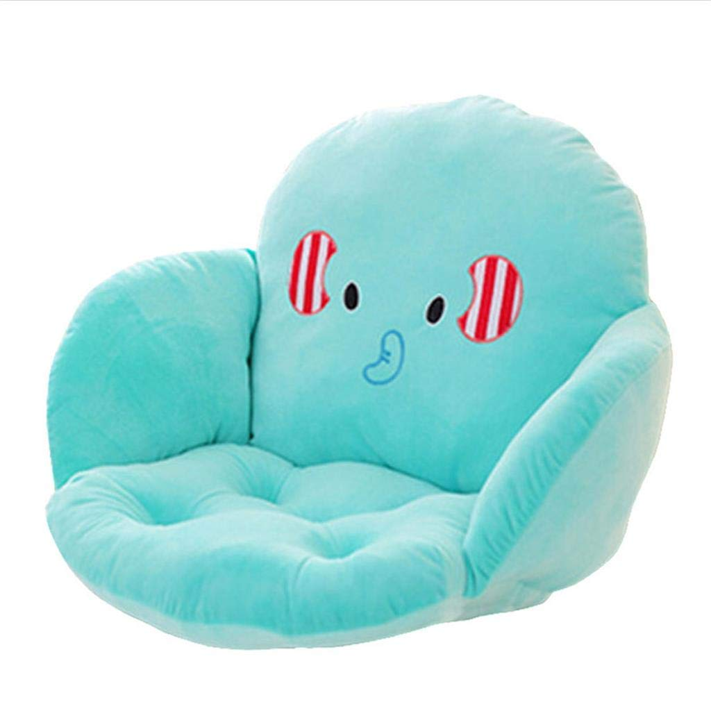 ALUS- Children's Cushions - Cute Cartoon Style Sofa Cushions, Office Thickening Waist Cushions, Baby Reading Cushions (Color : #2)