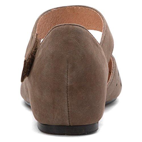 buck Flats Duchess K Crowne Womens Comforteur Comforteur Shoes Khaki Crowne zOxnwa