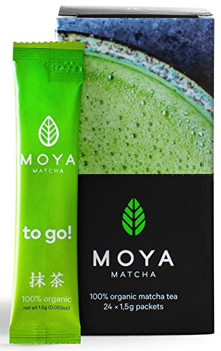 Moya Matcha To Go! Té Verde Orgánico En Polvo | 24 x 1,5