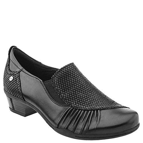 Black Pump Calf Boot (Earth Women's Dorado Pump,Black Soft Calf,US 5.5 M)